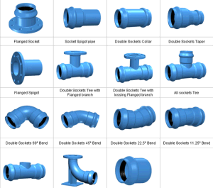 Ductile Iron Fitting Socket for PVC Pipe En545 pictures & photos