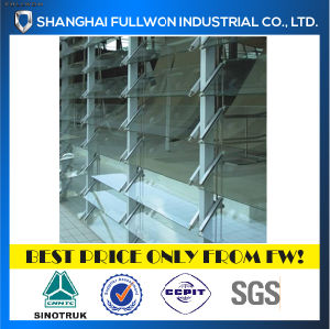 4 /6 /8 Blades Frame Aluminium Shutter Frame for Kinds of Buildings pictures & photos