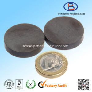 D30X4 Y30bh High Quality Disc Shape Anisotropic Ferrite Magnet pictures & photos