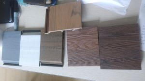 Factory Steady Quality Capped WPC Outdoor Decking Wall Panel pictures & photos
