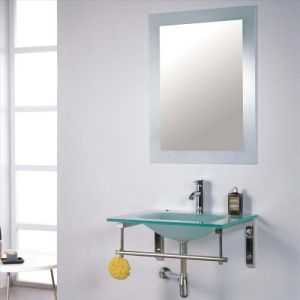 Glass Bathroom Bevel Silver Mirror with En1036 pictures & photos