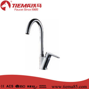 Black Plated Brass Single Lever Kitchen Faucet (ZS61810) pictures & photos