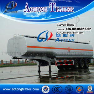 50cbm Tri-Axle High Tensile Steel Fuel Tanker Semi Truck Trailer pictures & photos