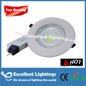 Small Round Temperature Stable Flush Mounted LED Downlight
