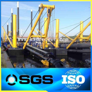 Hydraulic Diesel Type River Suction Mud Dredger pictures & photos