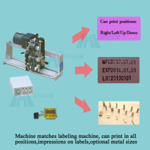 Semi-Automatic Bottle Labeling Machine for Round Bottles (GH-Y100) pictures & photos