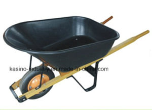 7cbf Capacity Hurl Barrow with Wooden Handle pictures & photos