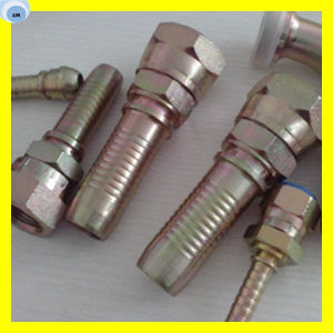 Hydraulic Hose Fitting Rubber Hose Fitting Flexible Hose Fitting pictures & photos