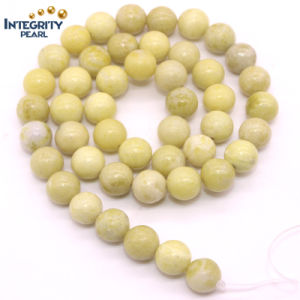 Size 4 6 8 10 12mm Natural Fynchenite Stone Yellow Sapphire Gemstone