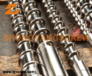 Bimetallic Screw and Barrel for Plastic Extruder pictures & photos