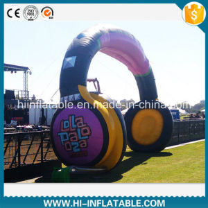 Hot-Sale Event Entrance Inflatable Headphone Arch