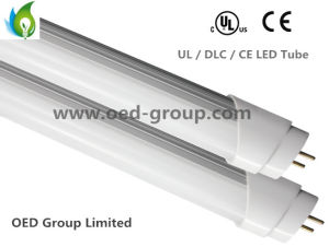 UL / Dlc T8 4ft 18W LED Tube with 100-277VAC and 100-120lm/W pictures & photos