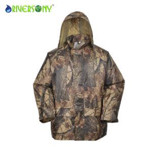 Stylish Camo Rainsuit for Men pictures & photos