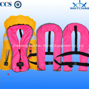 Light Weight Rescue Inflatable Life Jacket for Adult pictures & photos