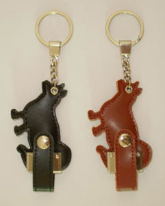 Leather USB Flash Drive for Reference, Popular with Girl and Boy pictures & photos