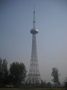 TV&Broadcast Tower with Pipe Steel and Angle Steel