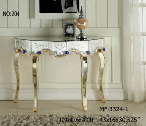 2017 Living Room Home Decor Mirrored Console Table pictures & photos