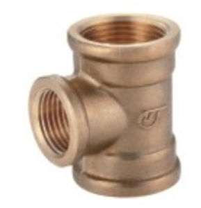 Brass Fittings Female Reducing Tee Copper Tb-11 pictures & photos