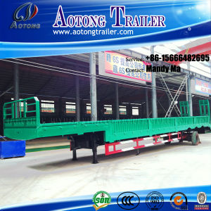 50 Tons Lowbed Semi Trailer with Side Wall pictures & photos