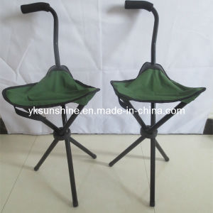 Fishing Stool with Walking Stick Xy-101f pictures & photos