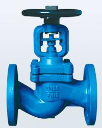 DIN Cast Iron Globe Valve PN16 pictures & photos