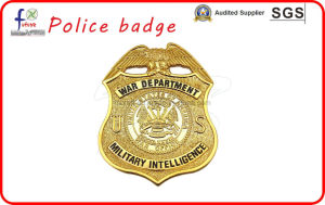 Soft Enamel 3D Police Badges Military Pin Badges pictures & photos