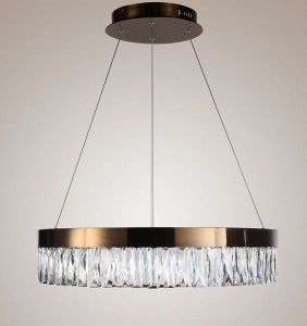Steel Crystal LED Lamp (WHG-3041) pictures & photos