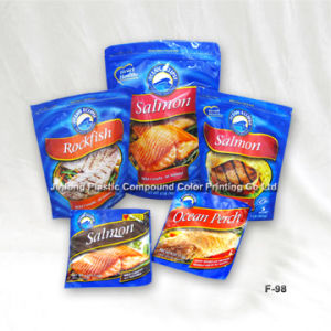 Three Side Sealed Food Bags Die Cut Bag pictures & photos