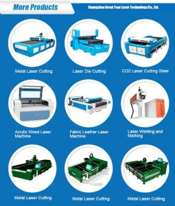Laser Machine Manufacturer Factory in Guangzhou Gy-1530fd pictures & photos