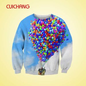 Custom Printing Sublimation Sweater for Wholesale pictures & photos