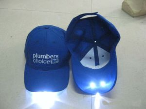 Customized 100% Cotton Embroidery LED/Wholesale Baseball Cap