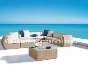 Well Furnir 2015 Garden Furniture Sofa Set Rattan Furniture pictures & photos