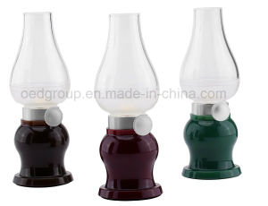 Rechargeable LED Blowing Table Lamp with Dimmer Control From China Supplier pictures & photos
