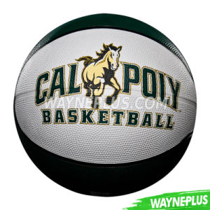 Promotion Custom Basketball Size 7 on Bulk Sale Rubber Basketball