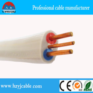 1.0mm1.5mm2.5mm4mm6mm10mm Colored Copper Conductor Twin and Earth Cable/Zhejiang Cable/China Product Cables pictures & photos