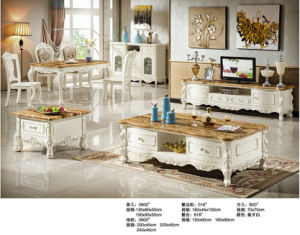 China Living Room Furniture Set, Marble TV Stand, Coffee Table (0602#) pictures & photos