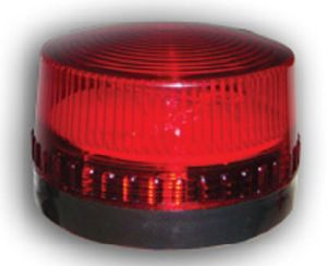 Wired Alarm Strobe Light with Red Flash (ES-8012) pictures & photos