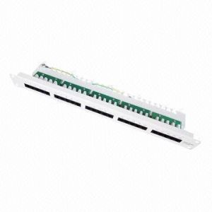 Cat3 Telephone Patch Panel with 25-Port pictures & photos