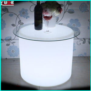 LED Light up Outdoor Furnitures Round Stool LED Light Furniture pictures & photos