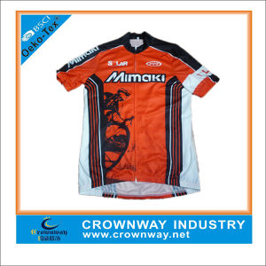 Custom Dry Fit Cycling Wear, Mens Cycling Jersey with Custom Digital Print pictures & photos