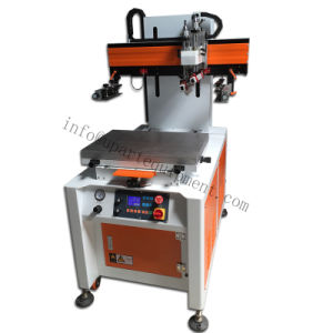 Automatic UV Fletbed Screen Printing Machine with UV Curing Machine