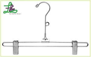 Man Metal Cloth Hanger (MHC013)