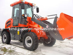 Mini Wheel Loader 1.2ton with Hydraulic Convertor (ZL10F)