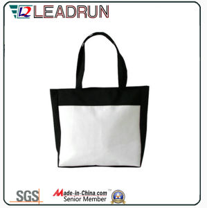 Backpack Nonwoven Shopping Bag Leather Cotton Canvas Hand Shopping Bag (X034) pictures & photos