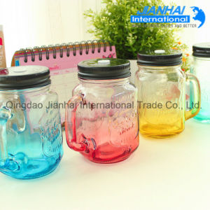 Wholesale Colorful Glass Mason Jar pictures & photos