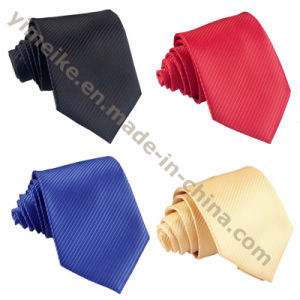 Latest New Elegent Korean Silk Pure Color Wedding Neck Ties for Men pictures & photos