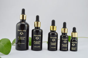 Black Color Oil Glass Dropper Bottle with Dropper Print Logo, Design pictures & photos