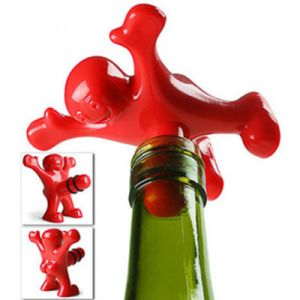Happy Man Novelty Bar Tools Wine Stopper Bottle Plug