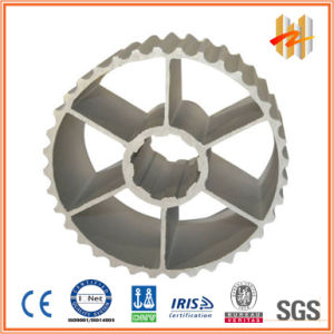 6061 Aluminum Extrusion Profiles for Belt Pulley (ZW-ME-012)
