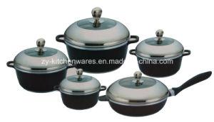 10-Piece Die-Cast Aluminum Cookware Set (ZY-ST10-1)